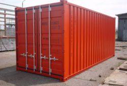 Сухогрузный контейнер 40 DC - фото
