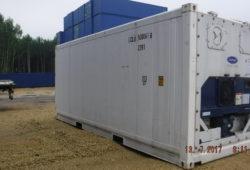 Рефрижераторный контейнер 20 футов - фото