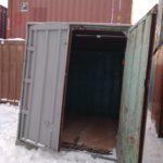 складской железнодорожный контейнер 5 тонн бу фото