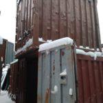 красный железнодорожный контейнер 5 тонн бу фото