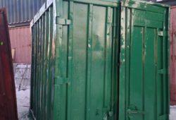 железнодорожный контейнер 5 тонн под склад фото