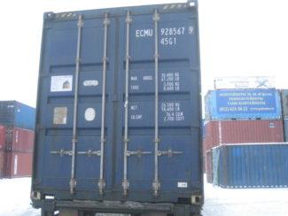 контейнер 40 HC -фото