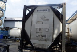 Танк-контейнер торец - фото
