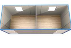 Блок-контейнер БК-4 - схема
