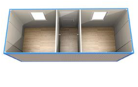 Блок-контейнер БК-5 - схема