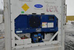 Рефконтейнер 40 футов - фото установки