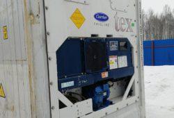 Рефконтейнер Carrier - фото установки